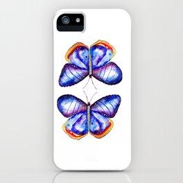 Butterflies meditation iPhone Case