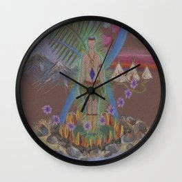 Many Worlds Aura Wall Clock