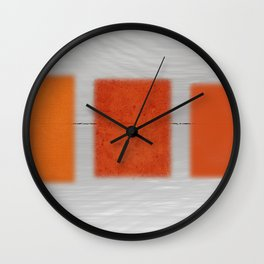Transport With Noise Wall Clock