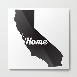 Home California Metal Print
