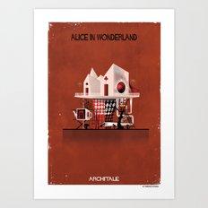 06_ARCHITALE_Alice in Wonderland Art Print