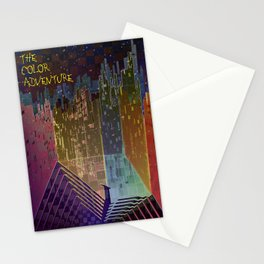 The Color Adventure in The Mistic Areas Stationery Cards