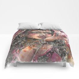 Goddess Lakshmi Comforters
