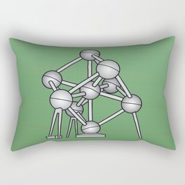 Atomium Brussels Rectangular Pillow