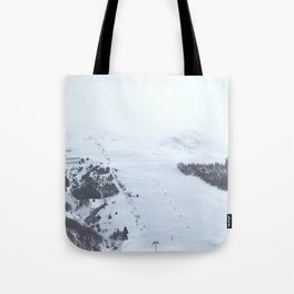 After the snow comes the sun Tote Bag