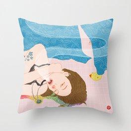 Hana : Simply Life Throw Pillow