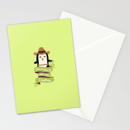 Dont mess up with a cowboy T-Shirt Duqp3 Stationery Cards