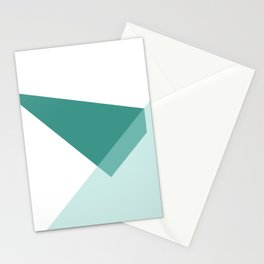 Triangles No6 Stationery Cards