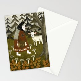 Galiena's goat Stationery Cards