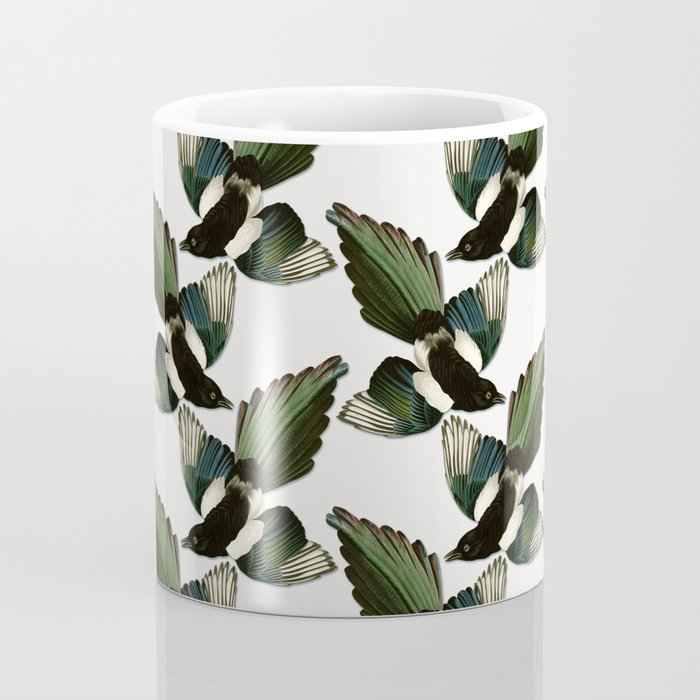 A Tiding Of Magpies Coffee Mug