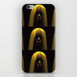 Blonde iPhone Skin