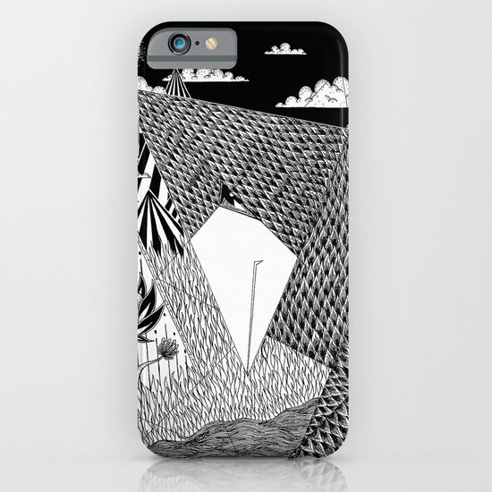 Bird Crossing over the full moon iPhone & iPod Case