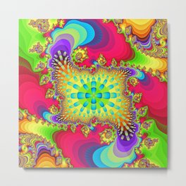 Color influx Metal Print