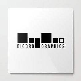 BigBro Graphics Logo Metal Print