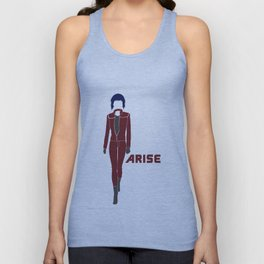 Ghost in the Shell Arise Unisex Tank Top
