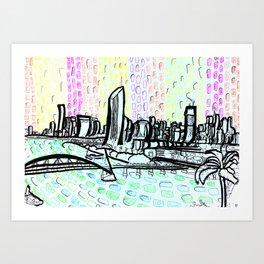 Brisbane Series #14 Art Print