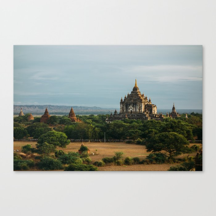 Burma's Country Roads II Canvas Print