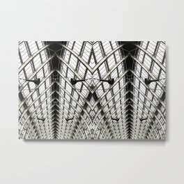 ZIPPERS Metal Print