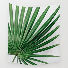Palm Leaf Detail Wall Tapestry