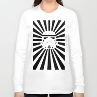 storm trooper Long Sleeve T-shirts featuring Storm Trooper by RobotSpaceBrain