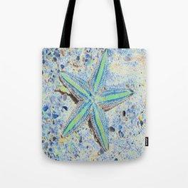 Starfish Abstract Tote Bag