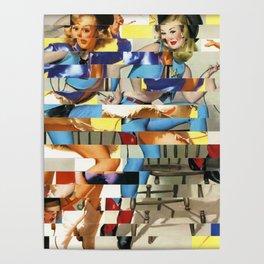 Glitch Pin-Up Redux: Yasmin & Yardley Poster