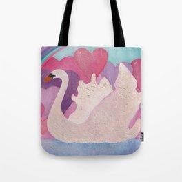 Iced Swan Tote Bag