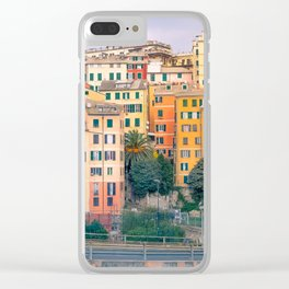 Genoa colorful view Clear iPhone Case
