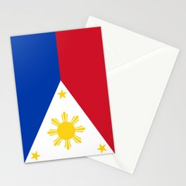 Philippines flag Stationery Cards