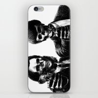 pulp iPhone & iPod Skins featuring Pulp Fiction by Motohiro NEZU