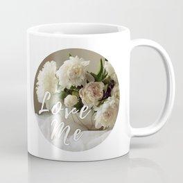 Garden peonies for Justine - wedding bouquet photography Coffee Mug