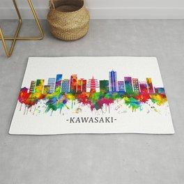 Kawasaki Japan Skyline Rug