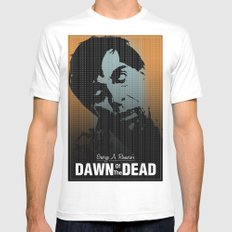 Dawn of the Dead MEDIUM Mens Fitted Tee White