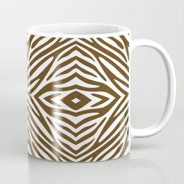 Pecan Neutral Zebra Coffee Mug