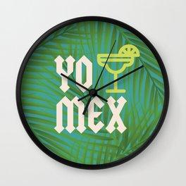 Yo Tequila MEXico Wall Clock