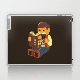 How To Be a Cat Laptop & iPad Skin