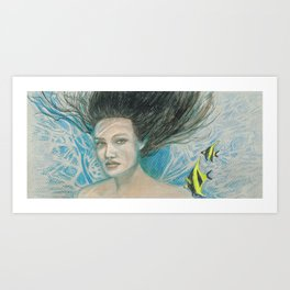 Submersed Art Print