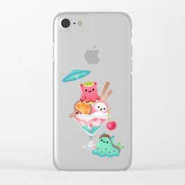 Mollusk cocktail Clear iPhone Case