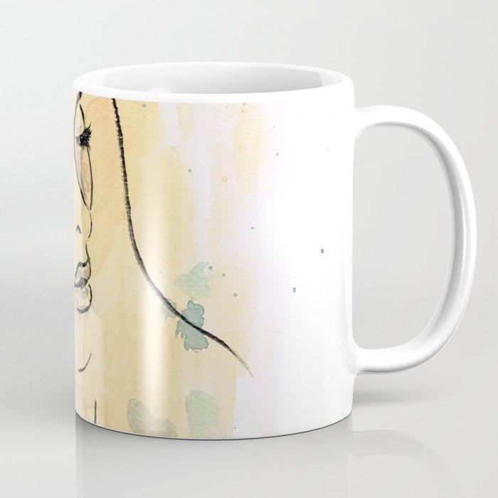 Girl in the clouds Coffee Mug