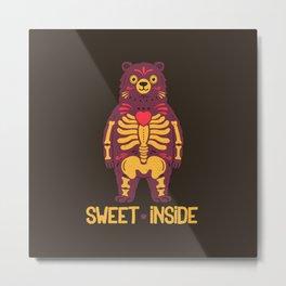 Sweet Inside Metal Print