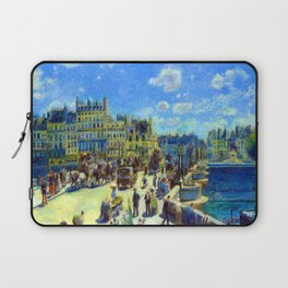 Renoir Pont Neuf Paris Laptop Sleeve