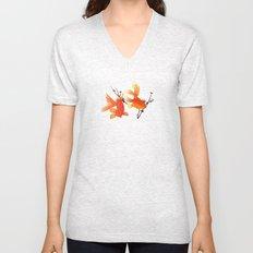 Goldfish Unisex V-Neck