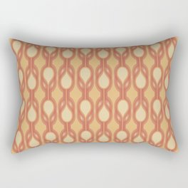 Retro-Delight - Double Drops - Citrus Rectangular Pillow