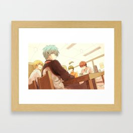 Kuroko's Basketball Framed Art Print
