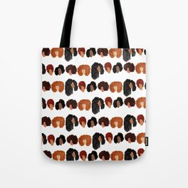 Natural Hair Girls Tote Bag