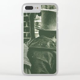 Victorian Christmas. Clear iPhone Case