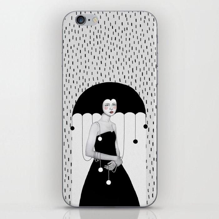 Rainy Minta iPhone Skin