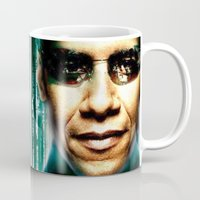 russia Mugs featuring Russia  USA by Pavlo Tereshin