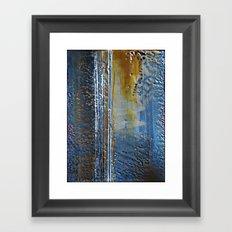 Cobalt Framed Art Print