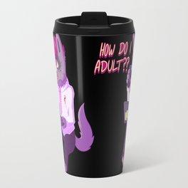 How do I adult?? Travel Mug